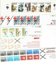 NETHERLANDS MNH n 13 complete booklets as per 2 scans  s32420