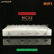 Hifi Classic Mc22 Tube preamplifier Base on McIntosh C22 With Treble/Bass adjust