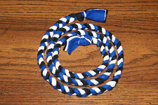 New Colors to Support Bcr Blind Cat Rescue 4 ft. Handmade Braided Fleece Cat Toy
