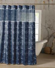 "Kensie Luxury Satin Shower Curtain with Sheer Border - 72"" x 72"""