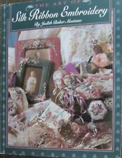 The Art of Silk Ribbon Embroidery books, patterns: batch lot of 5 items