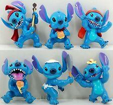 Disney Lilo & Stitch Dolls Figures Playset Set 6pc