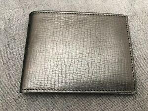 Bosca 8 Credit Card Wallet with ID Flap 199-325 Bishop Black