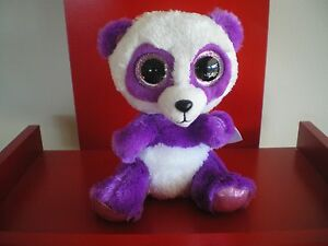 Ty Beanie Boos BOOM BOOM panda 6 inch NWMT - IN HAND NOW.
