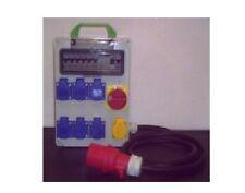 Stromverteiler mit Hauptschalter+ Fi-Schalter 7xSchuko,