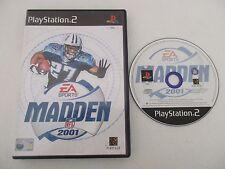 MADDEN NFL 2001 - SONY PLAYSTATION 2 - JEU PS2 PAL UK