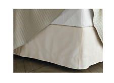 Fieldcrest Bed Skirt Hemstitch - Color Shell Size King 300 Thread Count New