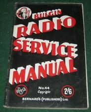 1940s Collectable Radio Manuals & Publications