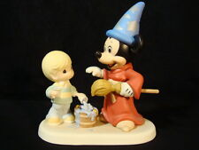 zt Precious Moments-Disney-Sorcerer Mickey Mouse-2008 TWO DAY EVENT EXCLUSIVE!!