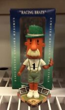 Racing Brat Milwaukee Brewers Team Mascot Stadium Base Bobblehead NIB Baseball