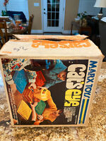 Vintage 1970s Marx Toys CAT'S EYE Game with Original Box