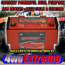 Odyssey PC1700 AGM Dry Fit Battery BMW AUDI Landrover Jeep Pc1700mjt Deep Cycle