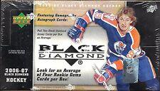 2006-07 Black Diamond Factory Sealed Hockey Hobby Box  Gemography   Autos ??
