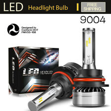 9004 HB1 LED Headlight Bulb Kit High Low Beam Replace Halogen HID Lamp 6000K