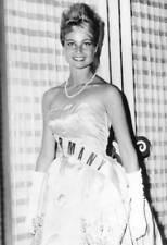 OLD PHOTO Miss Universe Beauty Contest Winner 1961 Marlene Schmidt 3