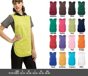 Premier Large Pocket Apron Workwear Catering Cleaning Beauty spa Plain Tabard