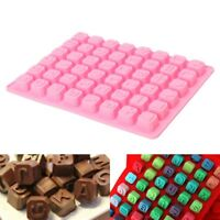 48 Alphabet Letter Number Silicone Mold Ice Cube Tray Chocolate Cake Candy Mould