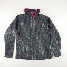 Columbia Youth Girls Size 18-20 Interchange Jacket Gray White