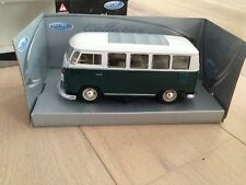 MINIATURE VOLKSWAGEN VW MICROBUS CLASSICAL BUS 1962 WELLY 2095 1/25