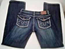 Cowgirl Up Women's Jeans SIZE 8/W30 Boot Cut Dont Fence Me In