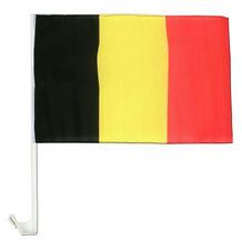 12x18 Lot de Vente en Gros 12 Belgique Véhicule Voiture 30.5cmx45.7cm Drapeau