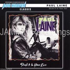 PAUL LAINE - STICK IT IN YOUR EAR + 4 BONUS TRACKS - REMASTERED CD - PAUL LAINE