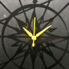 5 set x NEW YELLOW ALPHA WATCH HAND SUITABLE FOR BULOVA ACCUTRON 214 OR OTHERS
