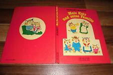 Richard Scarry -- MATZ KATZ und seine FAMILIE // Bilderbuch in 1. Auflage 1977