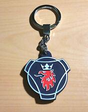 Scania Schlüsselanhänger Logo beidseitig Silikon ORIGINAL