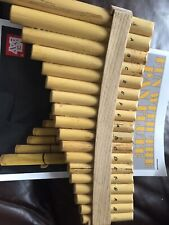 More details for pan flute with book