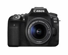 Open Box Canon EOS 90D DSLR Camera with 18-55mm Lens
