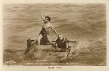 Vintage German Postcard from Ben-Hur, Rescue Scene
