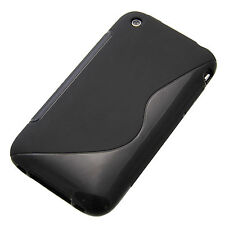 SILICONE Custodia in TPU S-Line Custodia per Apple iPhone 3g 3gs