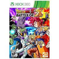 Dragonball Z Dragon Ball Battle of Z  Video Game + case Microsoft Xbox 360