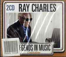 RAY CHARLES Legends in Music Collection 2CD NEW SEALED