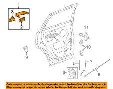 Door Handle Exterior Rear Chevrolet Captiva 15 14 13 12 GM OEM  25987007 B2