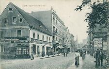 Ansichtskarte Lissa Kaiser-Wilhelm-Straße 1915