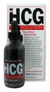 NiGen BioTech - HCG Solution 100% Hormone Free - 2 oz. (60 ml)