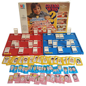 Guess Who 1979 - Spare Cards and Pieces Choose From List - Free UK Post