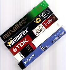 Music Reality shows used vhs tapes sold as blanks VOICE X FACTOR SING OFF DWTS