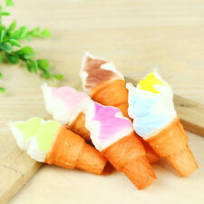 Cute Cellphone Pendant Ice Cream Squishy Cake Slow Rising Straps Bread Random