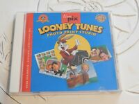 Looney Tunes Photo Print Studio PC  No Back Cover Art (RP9)