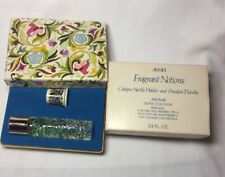 Vintage Avon Ariane Fragrant Notions Cologne Thimble .33 Fl Oz Full Unused