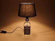 Jack Daniels - Flaschen Lampe Tischlampe LED 220V mit Schalter ORIGINELL S2 0,7L