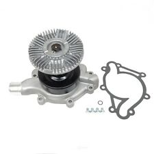 Engine Water Pump with Fan Clutch-Base US Motor Works MCK1003