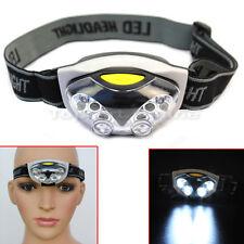 3 Modèles 6 LED Headlight Lampe Frontale Tête Lumière Phares Réglable Cycliste