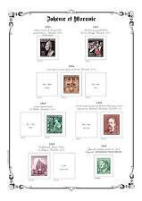PAGES D´ALBUM - BOHEME & MORAVIE - BOHEMIA & MORAVIA -1939-->1945