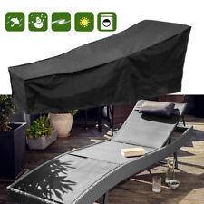 Waterproof Garden Outdoor Sun Lounger Bed Cover Recliner Chair Weather Protector