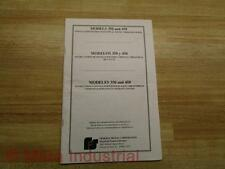 Federal Signal 256918G Manual Models 350 & 450 Vibratory Horns