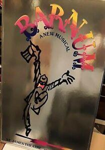 1980 ORIGINAL BARNUM Musical Broadway Window Card Poster 22 x 14 + custom frame